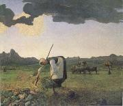 Giovanni Segantini The Hay Harvest (mk09) oil painting picture wholesale