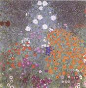 Gustav Klimt Flower Garden (mk09) oil painting picture wholesale