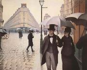 Gustave Caillebotte Paris Street A Rainy Day (mk09) oil painting picture wholesale