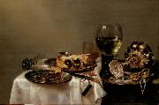 HEDA, Willem Claesz. Still Life (mk08) oil painting picture wholesale