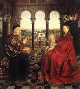 Jan Van Eyck The Virgin of Chancellor Rolin (mk08) oil painting picture wholesale