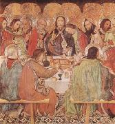 Jaume Huguet Last Supper (mk08) oil painting artist