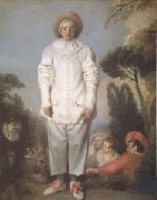 Jean-Antoine Watteau Pierrot also Known as Gilles (mk05) oil painting picture wholesale