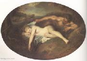 Jean-Antoine Watteau Jupiter and Antiope (mk05) oil painting picture wholesale
