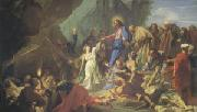 Jean-Baptiste Jouvenet The Resurrection of Lazarus (mk05) oil painting picture wholesale