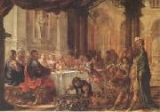 Juan de Valdes Leal The Marriage at Cana (mk05) oil painting artist