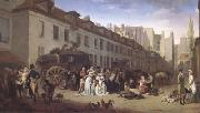 Louis Leopold  Boilly THe Arrival of a Coach (mk05) oil painting picture wholesale