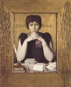 Louis Welden Hawkins Mme Severine (mk06) oil painting