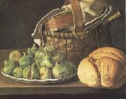 Melendez, Luis Eugenio Still Life with Figs (mk05) oil painting picture wholesale