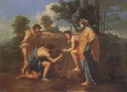 Nicolas Poussin The Shepherds of Arcadia (mk05) oil painting picture wholesale