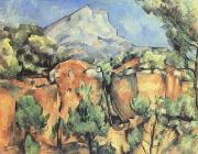 Paul Cezanne Mont Sainte-Victoire Seen from the Quarry at Bibemus (mk09) oil painting picture wholesale