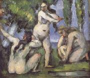 Paul Cezanne Three Bathers (mk06) oil painting picture wholesale