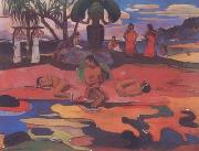Paul Gauguin Day of the Gods (mk07) oil painting picture wholesale