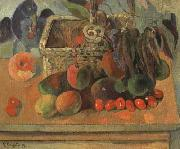 Paul Gauguin Still life with exotic fruit (mk07) oil painting picture wholesale