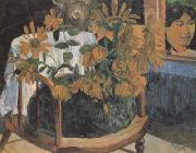 Paul Gauguin Sunflower (mk07) oil painting picture wholesale