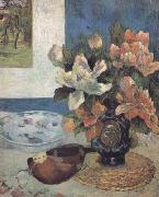 Paul Gauguin Still Life with Mandolin (mk06) oil painting picture wholesale