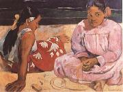 Paul Gauguin Tahitian Women (On the Beach) (mk09) oil painting picture wholesale