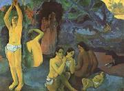 Paul Gauguin Where do we come form (mk07) oil painting picture wholesale