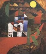 Paul Klee Villa (mk09) oil painting artist