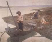 Pierre Puvis de Chavannes The Poor Fisherman (mk09) oil painting picture wholesale