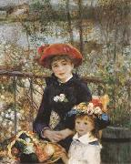 Pierre-Auguste Renoir On the Terrace (mk09) oil painting picture wholesale