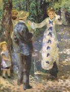 Pierre-Auguste Renoir The Swing (mk09) oil painting picture wholesale