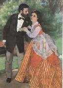 Pierre-Auguste Renoir The Painter Sisley and his Wife (mk09) oil painting picture wholesale