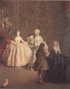 Pietro Longhi The Introduction (mk05) oil painting picture wholesale