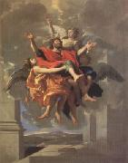 Poussin Ecstasy of ST Paul (mk05) oil painting artist