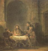 REMBRANDT Harmenszoon van Rijn The Supper at Emmaus (mk05) oil painting picture wholesale