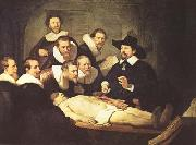 REMBRANDT Harmenszoon van Rijn The Anatomy Lesson of Dr.Nicolaes Tulp (mk08) oil painting picture wholesale