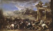 Salvator Rosa A Herois Battle (mk05) oil painting picture wholesale