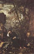 Salvator Rosa Democritus in Meditation (mk08) oil painting picture wholesale