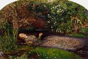 Sir John Everett Millais Ophelia (mk09) oil painting picture wholesale
