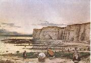William Dyce Pegwell Bay in Kent.A Recollection of October 5 th 1858  (mk09) oil painting artist