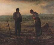 jean-francois millet The Angel us (san18) oil painting artist