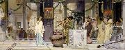 Alma-Tadema, Sir Lawrence The Vintage Festival (mk23) oil painting picture wholesale