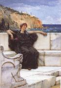 Alma-Tadema, Sir Lawrence Resting (mk23) oil painting picture wholesale