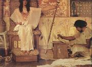 Alma-Tadema, Sir Lawrence Joseph Overseer of Pharoah's Granaries (mk24) oil painting picture wholesale