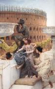 Alma-Tadema, Sir Lawrence The Coliseum (mk23) oil painting picture wholesale