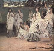 Alma-Tadema, Sir Lawrence A Private Celebration (mk23) oil painting picture wholesale