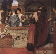 Alma-Tadema, Sir Lawrence Hadrian Vistiting a Romano-British Pottery (mk23) oil painting picture wholesale