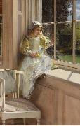 Alma-Tadema, Sir Lawrence Laura Alma-Tadema (mk23) oil painting picture wholesale