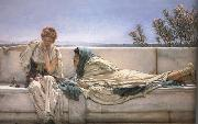 Alma-Tadema, Sir Lawrence Pleading (mk23) oil painting picture wholesale