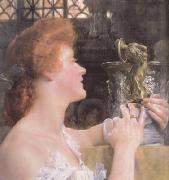 Alma-Tadema, Sir Lawrence The Golden Hour (mk23) oil painting picture wholesale
