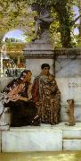 Alma-Tadema, Sir Lawrence In the Time of Constantine (mk23) oil painting picture wholesale