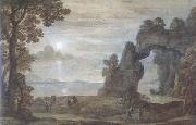 Claude Lorrain Perseus and the Origin of Coral (mk17) oil painting picture wholesale
