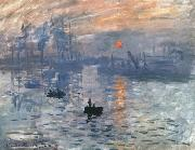 Claude Monet Impression,Sunire (Impression,soleil levant) (md21) oil painting picture wholesale