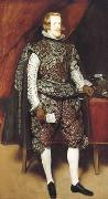 Diego Velazquez Portrait en pied de Philippe IV (df02) oil painting picture wholesale