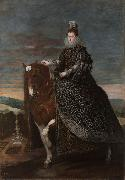 Diego Velazquez Queen Margarita on Horseback (df01) oil painting picture wholesale